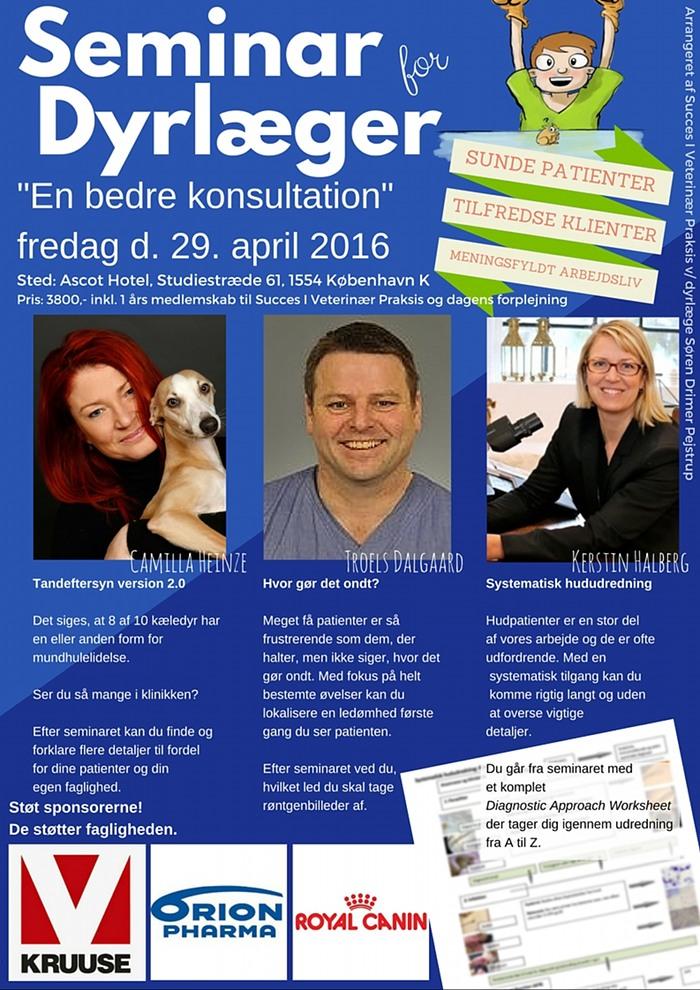 Seminar for dyrlæger 2016