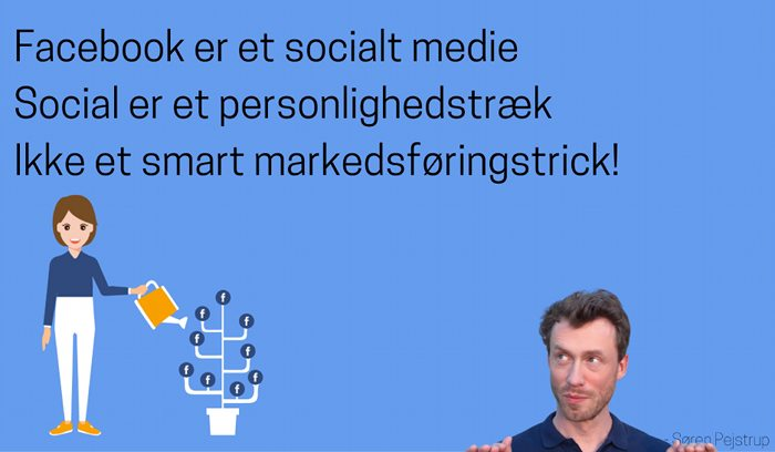 facebook er ikke et smart trick