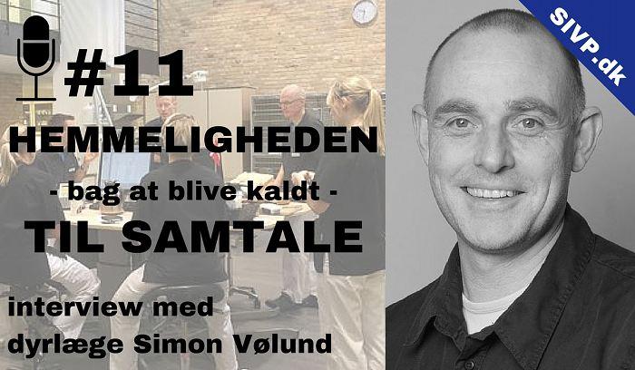 Dyrlæge Simon Vølund fortæller her hemmeligheden bag at blive kaldt til samtale med dyrlæge simon vølund dyrlæge odense dyrehospital
