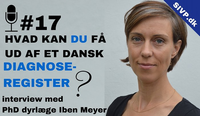 dansk diagnose register hund og kat dyrlæge og phd iben meyer