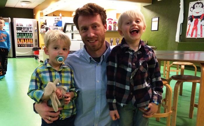 dyrlæge søren drimer pejstrup og hans sønner Bertil og Anton