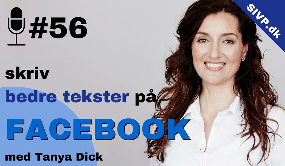 Lær at skrive bedre tekster til facebook med Tanya Dick Facebookekspert